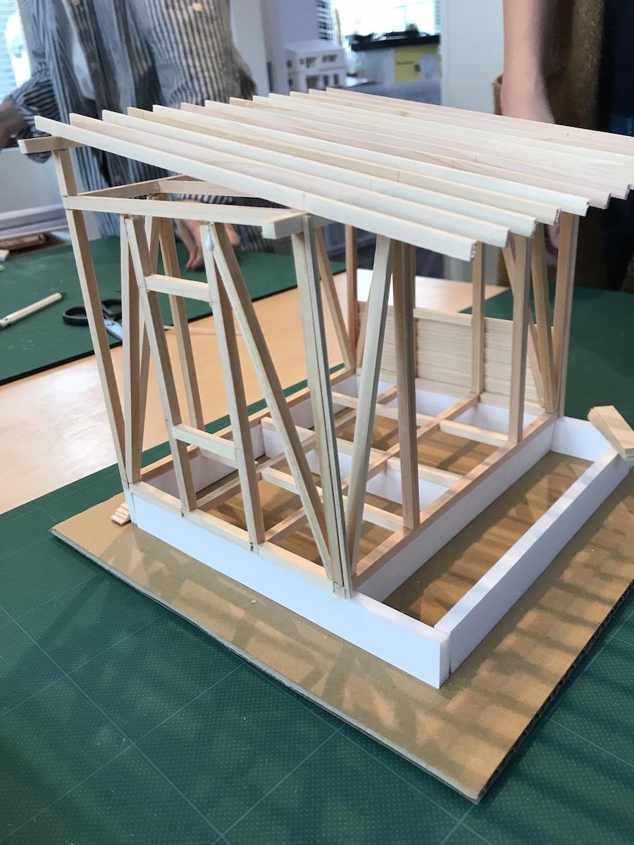 タイニーハウス模型