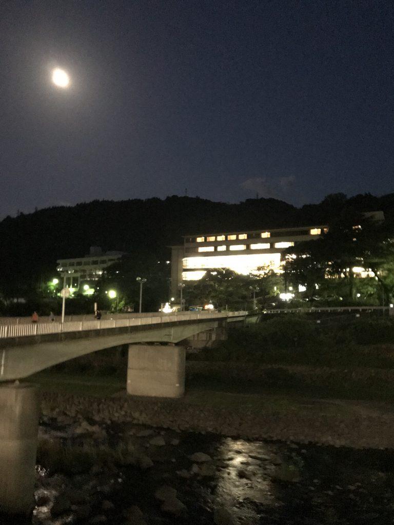 月夜と箱根