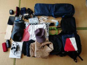 半年間の世界一周での持ち物。WWOOFとworkawayで世界を巡った僕の荷物をご紹介!